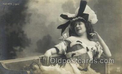 ffs001034 - Myrianne Cigale Foreign Film Stars Old Vintage Antique Postcard Post Card