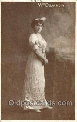 ffs001038 - Melle dujardin Foreign Film Stars Old Vintage Antique Postcard Post Card