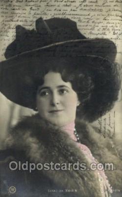 ffs001043 - Liane de vries Foreign Film Stars Old Vintage Antique Postcard Post Card