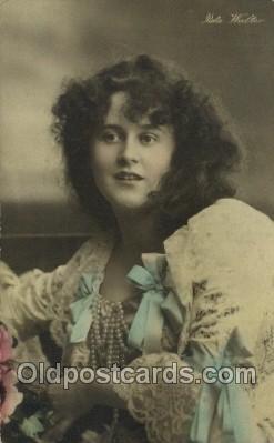 ffs001047 - Reta Walter Foreign Film Stars Old Vintage Antique Postcard Post Card
