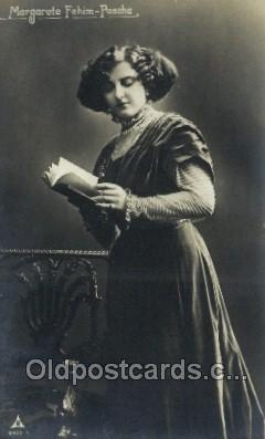 ffs001055 - Margarethe Fehim Paseha Foreign Film Stars Old Vintage Antique Postcard Post Card