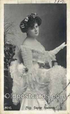 Miss Gaynor Rowl&s