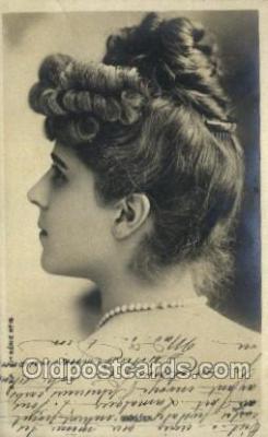 ffs001067 - Garlier Foreign Film Stars Old Vintage Antique Postcard Post Card