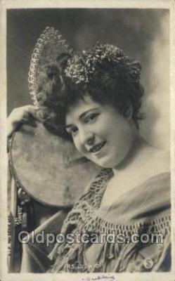 ffs001070 - JRS Ludwig Foreign Film Stars Old Vintage Antique Postcard Post Card