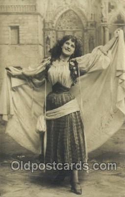 ffs001072 - Foreign Film Stars Old Vintage Antique Postcard Post Card