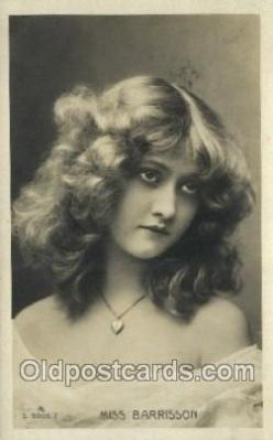 Miss Barrisson