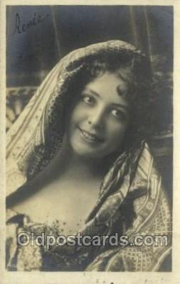 ffs001092 - Renee Foreign Film Stars Old Vintage Antique Postcard Post Card