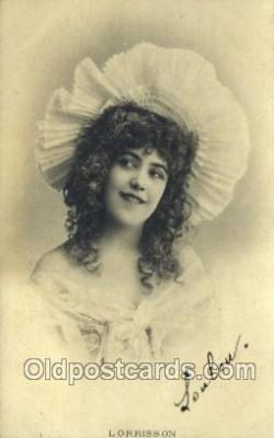 ffs001103 - Lorrisson Foreign Film Stars Old Vintage Antique Postcard Post Card