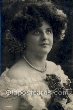 ffs001108 - Margarethe Fehim Paseha Foreign Film Stars Old Vintage Antique Postcard Post Card