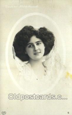 ffs001119 - Foreign Film Stars Old Vintage Antique Postcard Post Card