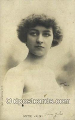 ffs001120 - Odette Valery Foreign Film Stars Old Vintage Antique Postcard Post Card