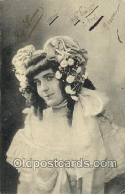 ffs001133 - Max Liseron Foreign Film Stars Old Vintage Antique Postcard Post Card
