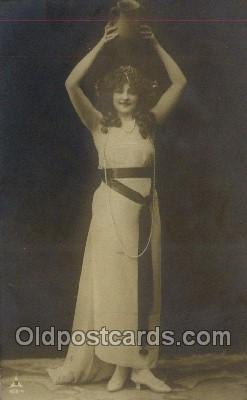 ffs001143 - Foreign Film Stars Old Vintage Antique Postcard Post Card