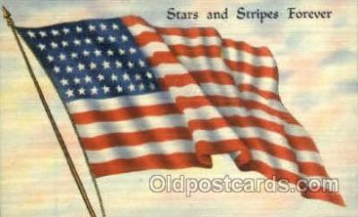 fgs001002 - Flag, Flags Postcard Post Card