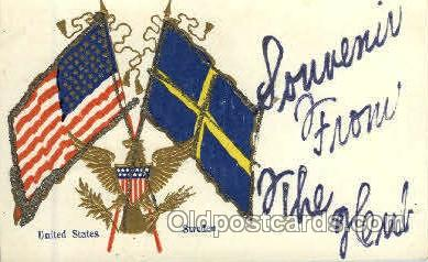 fgs001011 - Flag, Flags Postcard Post Card