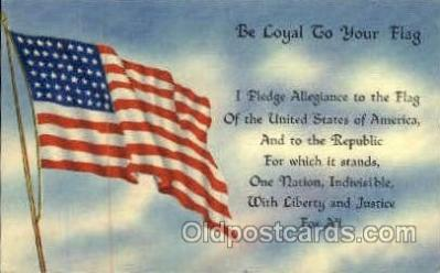 fgs001013 - Flag, Flags Postcard Post Card