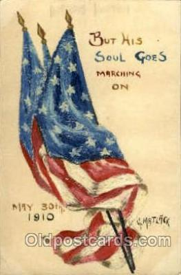 fgs001031 - Flag, Flags Postcard Post Card
