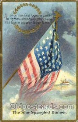 fgs001038 - Flag, Flags Postcard Post Card
