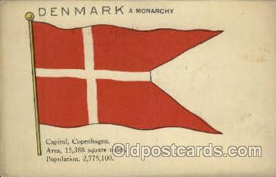 fgs001060 - Flag, Flags Postcard Post Card