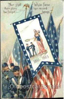 fgs001087 - Flag, Flags, Postcard Post Card