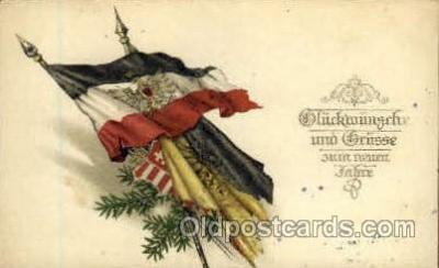 fgs100006 - Austria Flag, Flags, Postcard Post Card