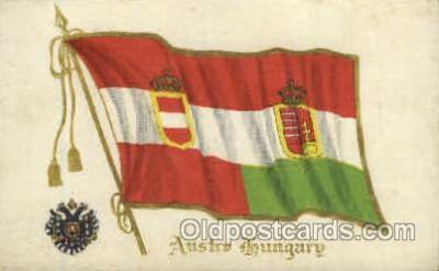 fgs100013 - Hungary Flag, Flags, Postcard Post Card