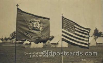 fgs100017 - United States of America Flag, Flags, Postcard Post Card