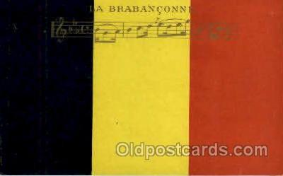 fgs100036 - Belgium Flag, Flags, Postcard Post Card