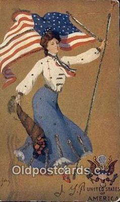 fgs100114 - Artist St. John United States of America Postcard Post Card, Carte Postale, Cartolina Postale, Tarjets Postal,  Old Vintage Antique