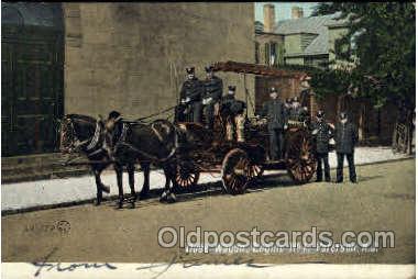 fir001016 - Paterson, NJ USA, Fire Related Postcard Post Card
