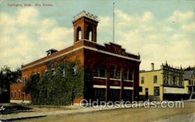 fir001040 - Torrington, Conn., Connecticut, USAFire Related, Fire Department Postcard Post Card