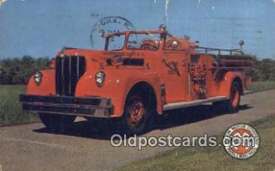 fir001073 - Maxim 1000 GPM Pumper Johnson City, TN, USA Postcard Post Cards Old Vintage Antique