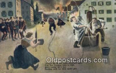 fir001101 - Blaze mountain High  Postcard Post Cards Old Vintage Antique