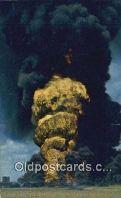 Typical Oil Well Fire