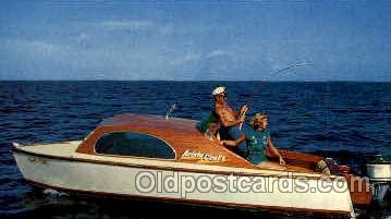 fis001008 - Fishing Postcard Post Card