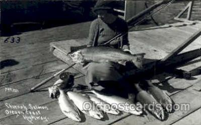 fis001050 - Fishing Postcard Post Card
