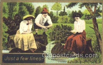 fis001205 - Fishing Postcard Post Card