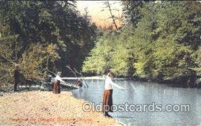 fis001211 - Umpqua, Southern Oregon, USA Fishing Postcard Post Card