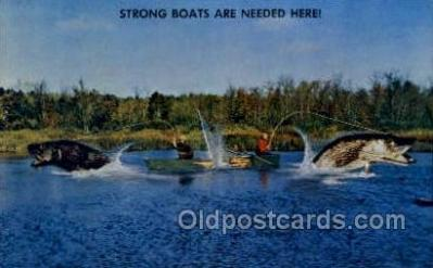 fis001356 - Fishing Old Vintage Antique Postcard Post Card
