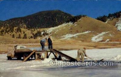 fis001362 - Eagle Nest, New Mexico, USA Fishing Old Vintage Antique Postcard Post Card
