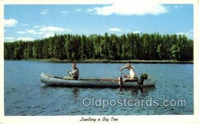 fis001504 - Fishing Old Vintage Antique Postcard Post Card