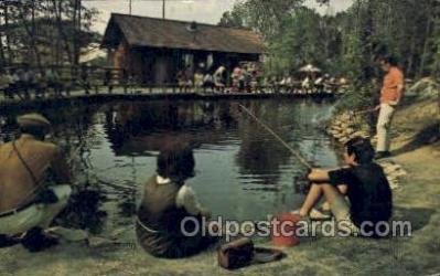 fis001509 - Sears Trout Pond Fishing Old Vintage Antique Postcard Post Card