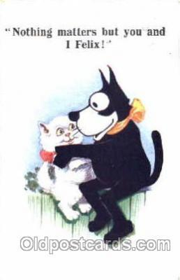 flx000016 - Felix The Cat Postcard Post Card