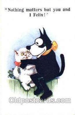flx000028 - Felix The Cat Postcard Post Card