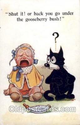 flx000059 - Felix the Cat Postcard Post Card
