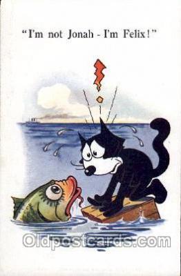 flx000060 - Felix the Cat Postcard Post Card