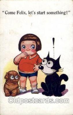 flx000065 - Felix the Cat Postcard Post Card
