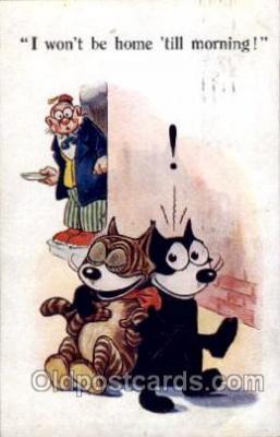 flx000068 - Felix the Cat Postcard Post Card