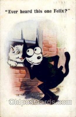 flx000075 - Felix the Cat Postcard Post Card