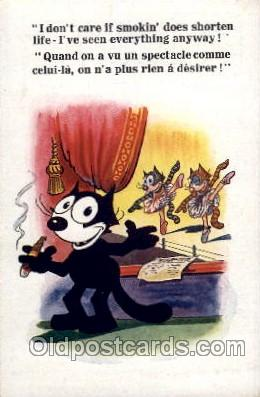 flx000082 - Felix the Cat Postcard Post Card